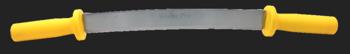 """Wiebe 12"""" Pro Double Handle Fleshing Knife #WPDFK12"""